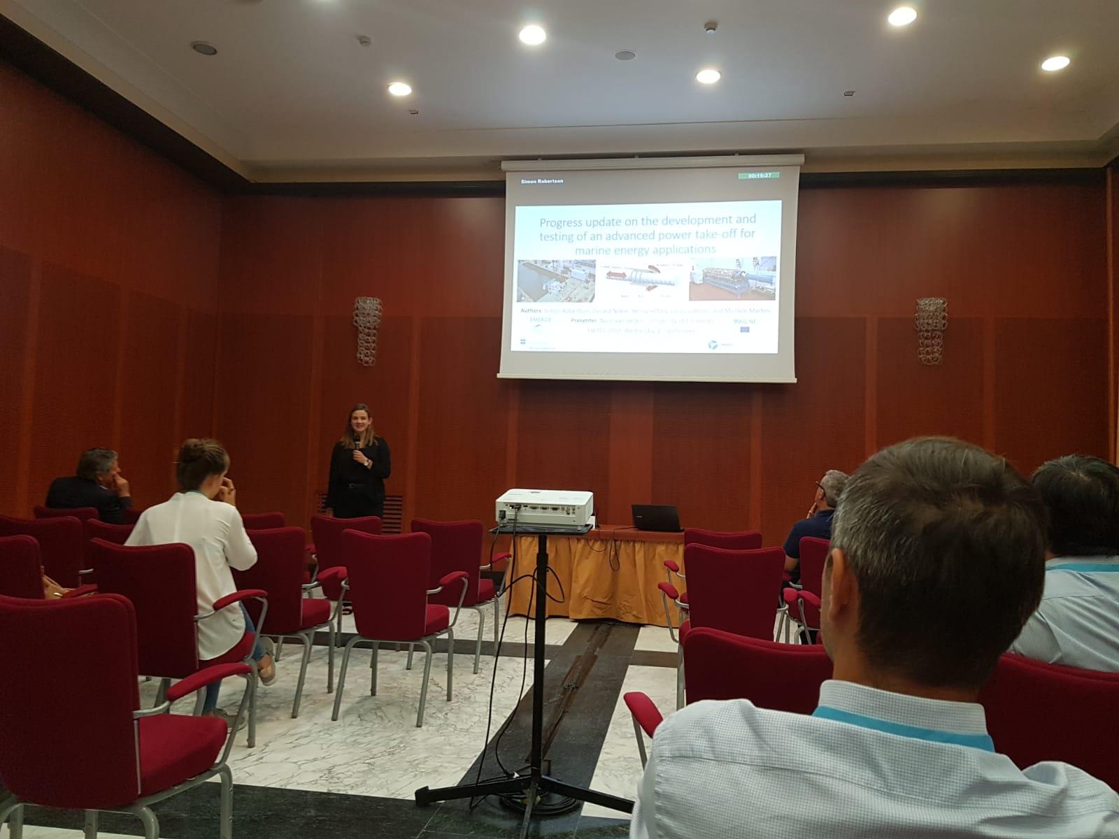 EWTEC 2019 Presentations